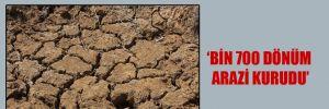 Köylüler icralık olunca araziler susuz kaldı!