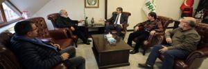 CHP'li Erdoğdu'dan dinci örgüte ziyaret!