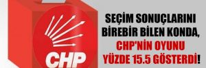 Seçim sonuçlarını birebir bilen KONDA, CHP'nin oyunu yüzde 15.5 gösterdi!
