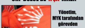CHP Düzce'de 'ifşa' krizi!  Yönetim, MYK tarafından görevden alındı