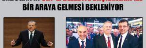 Erdoğan'ın CHP'li Belediye başkanları ile bir araya gelmesi bekleniyor