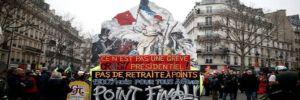 Fransa'da son yılların en büyük grevi hayatı felç etti