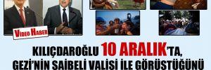 Kılıçdaroğlu 10 Aralık'ta, Gezi'nin şaibeli valisi ile görüştüğünü böyle anlattı CHP'lilere!