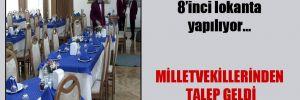 Meclis'e 8 milyon liraya 8'inci lokanta yapılıyor…