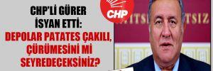 CHP'li Gürer isyan etti: Depolar patates çakılı, çürümesini mi seyredeceksiniz?