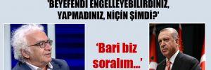 Orhan Bursalı: Kimse sormuyor, 'Beyefendi engelleyebilirdiniz, yapmadınız, niçin şimdi?' Bari biz soralım…