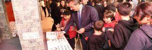 Başkan Soner Çetin, 'Çanakkale Savaş Objeleri' sergisini açtı!