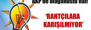 AKP'de olağanüstü hal!