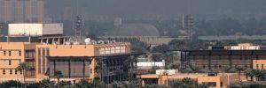 Bağdat'ta Yeşil Bölge'de ABD Büyükelçiliği yakınına 2 adet füze düştü