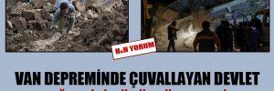 Van depreminde çuvallayan devlet Elazığ'da iyi görüntüler veriyor