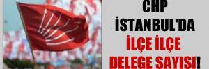 CHP İstanbul'da ilçe ilçe delege sayısı!