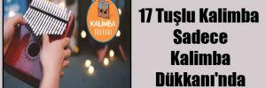 17 Tuşlu Kalimba Sadece Kalimba Dükkanı'nda