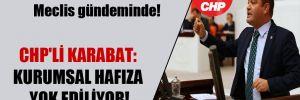 Devlet Tiyatroları'ndaki kıyım Meclis gündeminde! CHP'li Karabat: Kurumsal hafıza yok ediliyor!