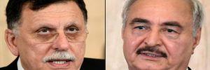Libya krizi: 'Başbakan Sarraj ile General Hafter' görüşecek iddiası!