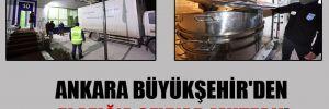 Ankara Büyükşehir'den Elazığ'a seyyar mutfak!