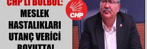 CHP'li Bülbül: Meslek hastalıkları utanç verici boyutta!