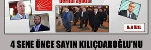 4 sene önce sayın Kılıçdaroğlu'nu böyle uyarmıştık!