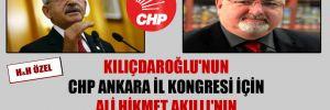 Kılıçdaroğlu'nun CHP Ankara il kongresi için Ali Hikmet Akıllı'nın eline tutuşturduğu delege listesi!