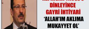 'Ali İhsan Yavuz'u dinleyince gayri ihtiyari 'Allah'ım aklıma mukayyet ol' dedim'