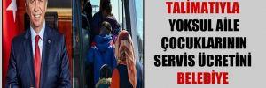 Mansur Yavaş'ın talimatıyla yoksul aile çocuklarının servis ücretini belediye karşılayacak!