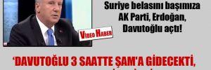 İnce:  Suriye belasını başımıza AK Parti, Erdoğan, Davutoğlu açtı!