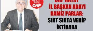 CHP Hatay İl Başkan adayı Ramiz Parlar: Sırt sırta verip iktidara yürüyeceğiz!