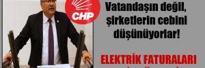 CHP'li Bülbül: Vatandaşın değil, şirketlerin cebini düşünüyorlar!