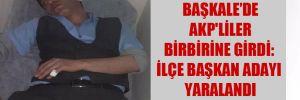 Başkale'de AKP'liler birbirine girdi: İlçe başkan adayı yaralandı