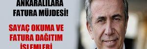 Mansur Yavaş'tan Ankaralılara fatura müjdesi!