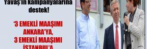 Akşener'den İmamoğlu ve Yavaş'ın kampanyalarına destek!