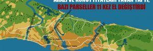 Kanal İstanbul güzergâhında arazi ve konut fiyatları tavan yaptı; bazı parseller 11 kez el değiştirdi