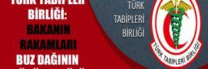 Türk Tabipler Birliği: Bakanın rakamları buz dağının görünen yüzü
