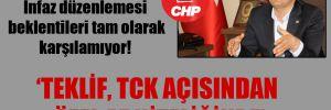 CHP'li Tutdere: İnfaz düzenlemesi beklentileri tam olarak karşılamıyor!