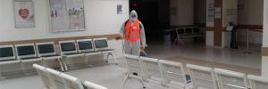 Altındağ Belediyesi, İbn-i Sina Hastanesi'ni dezenfekte etti!