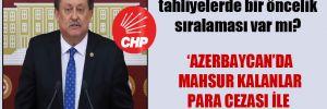 CHP'li Özer: Yurtdışından tahliyelerde bir öncelik sıralaması var mı?