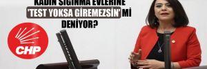 CHP'li Taşcıer'den Bakan Selçuk'a: Kadın sığınma evlerine 'test yoksa giremezsin' mi deniyor?