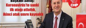 Hatay Büyükşehir Belediye Başkanı Savaş: Koronavirüs'te sanki ilk atağı atlattık, ikinci atak umre kaynaklı
