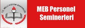 MEB Personel Seminerleri
