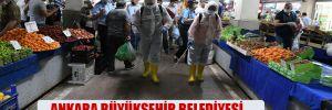 Ankara Büyükşehir Belediyesi, halk sağlığı için ilçe ilçe geziyor!