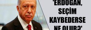 'Erdoğan, seçim kaybederse ne olur?'