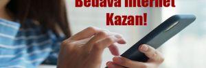 Bedava İnternet Kazan!