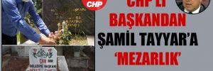 CHP'li başkandan Şamil Tayyar'a 'mezarlık' yanıtı!