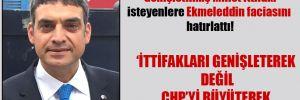 Umut Oran, 'Genişletilmiş Millet İttifakı' isteyenlere Ekmeleddin faciasını hatırlattı!