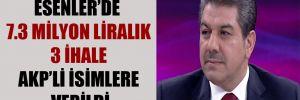 Esenler'de 7.3 milyon liralık 3 ihale AKP'li isimlere verildi