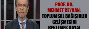 Prof. Dr. Mehmet Ceyhan: Toplumsal bağışıklık gelişmesini beklemek hayal