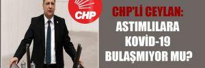 CHP'li Ceylan: Astımlılara Kovid-19 bulaşmıyor mu?