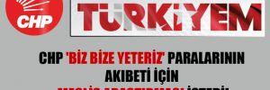 CHP 'Biz Bize Yeteriz' paralarının akıbeti için Meclis araştırması istedi!