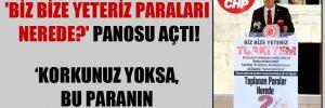 CHP'li Antmen, Meclis'te 'Biz Bize Yeteriz Paraları Nerede?' panosu açtı!