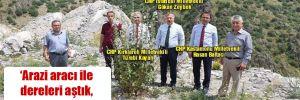 CHP'li vekiller 2017'de temeli atılan barajı bulamadı!