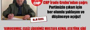 Kurultay öncesi CHP İrade Grubu'ndan çağrı: Partimizin çıkarı için her olumlu yaklaşım ve düşünceye açığız!